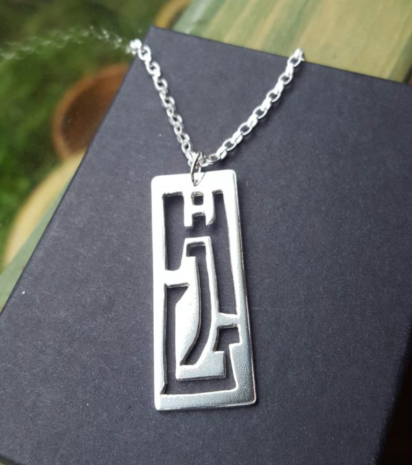 Initials pendant