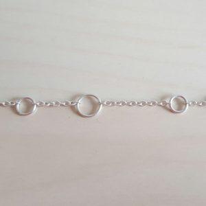 Multiple ring bracelet