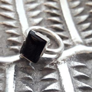 Large statement gemstone ring