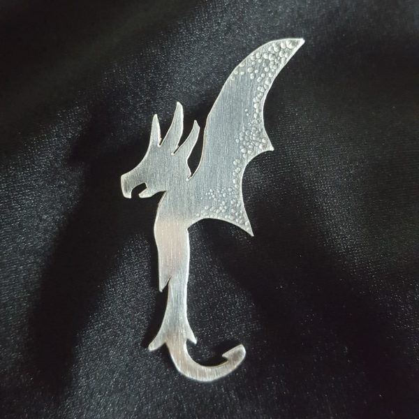 Dragon lapel pin badge