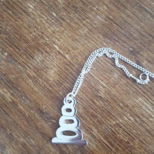 Stacking stones pendant
