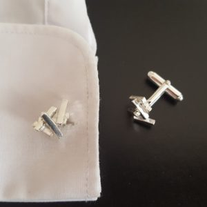 Tectonic cufflinks