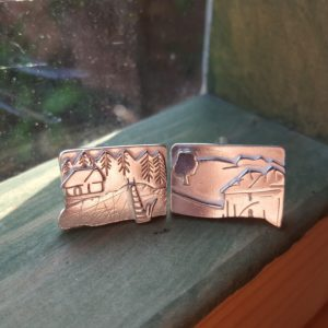 Sweden and Suffolk cufflinks