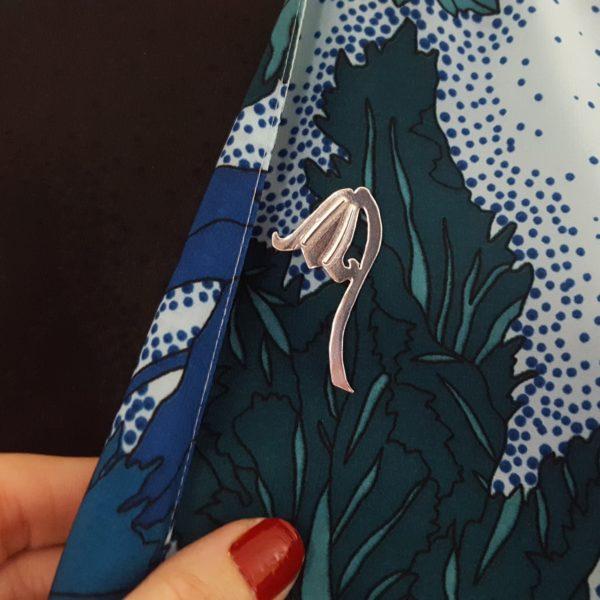 Bluebell brooch