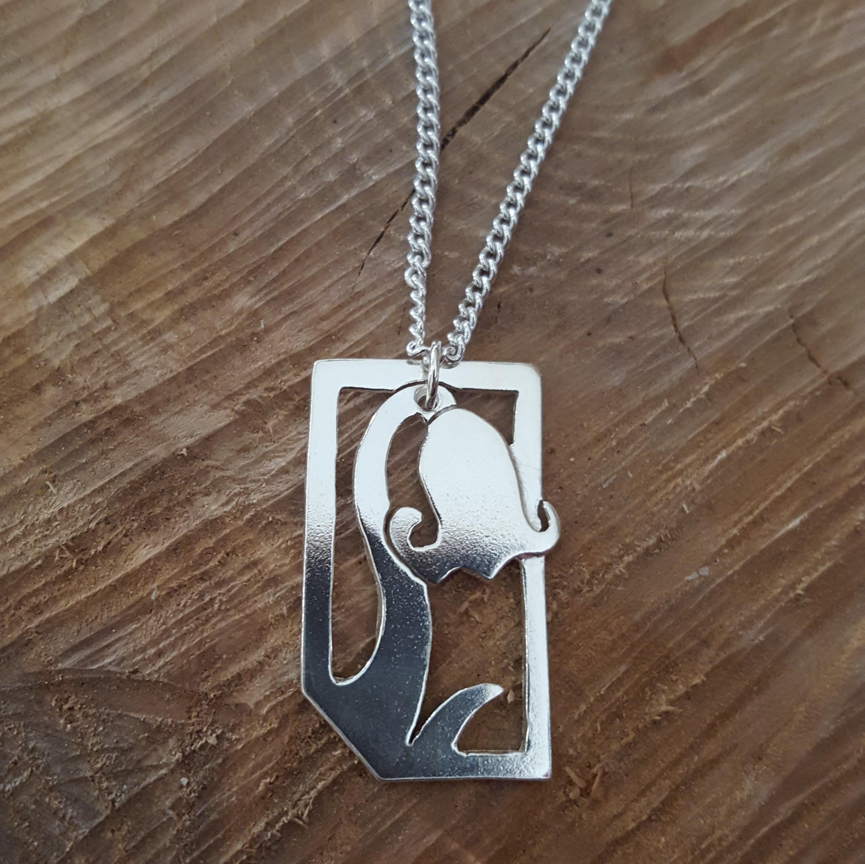 Bluebell pendant